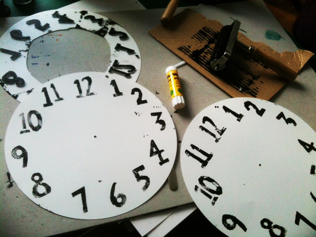 Printing Clock Faces