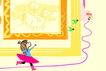 Princess Penelope Print Out Maze