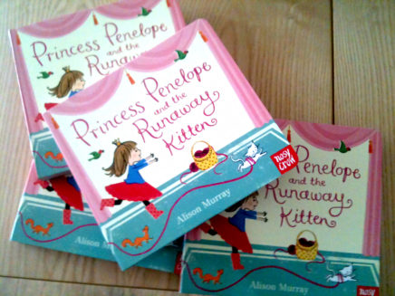 Princess Penelope board books